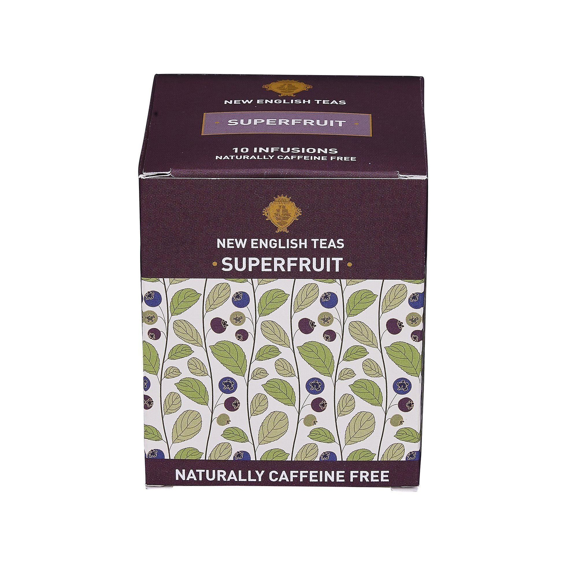 Superfruits tea 10 individually wrapped teabags