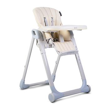Cangaroo high chair I eat height adjustable, foldable, double table footrest