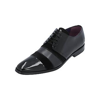 Melvin & Hamilton Elvis 29 Men's Black Lace-Up Shoes Businesschuhe Leather Office