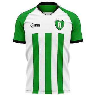2020-2021 Raja Casablanca Home Concept Fußball Shirt