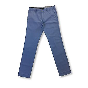 Ralph Lauren Polo slim fit pima cotton chinos in harbour island blue