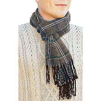 Unisex voksen lang strikket varme vinteren skjerf Walter Taupe rutete stilkontrollen