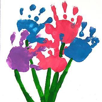 Giant Hand, Foot Print Paint Pad for MOTHERS DAY Crafts, Cards, Flowers.