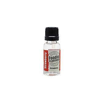 Foodie smaker Strawberry Naturlig arom 15 ml