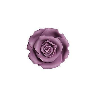 SugarSoft Jadalny kwiat - Róże - Violet 63mm - Pudełko 8