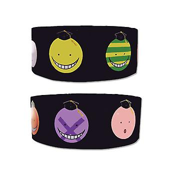 Wristband - Assassination Classroom - New Koro Sensei Expressions ge54262