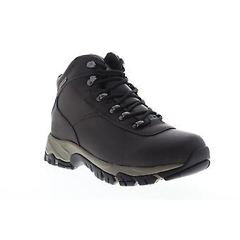 Hi-Tec højde herre brun læder lace up vandrestøvler sko