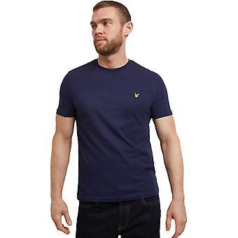 Lyle & Scott Camiseta Plana Navy 40