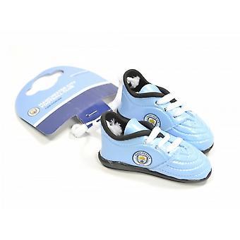 Manchester City FC laarzen auto Hanger