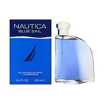 Nautica voile bleue par nautica pour hommes 3,4 oz eau de toilette spray