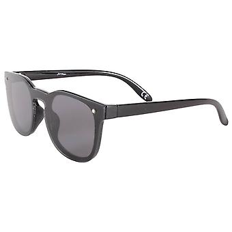 Jeepers Peepers Round Style Sonnenbrille - Schwarz