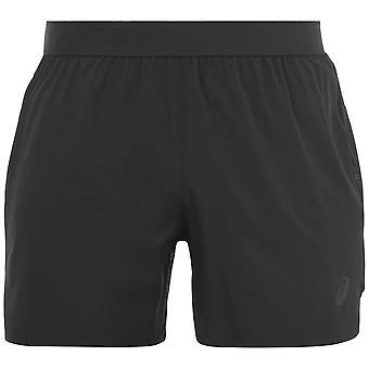 Asics Herren Straße 5zoll Shorts Böden elastischen Bund Sporthose