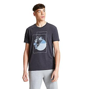 Durf 2b Mens Integreren Cotton Casual Graphic T Shirt Tee