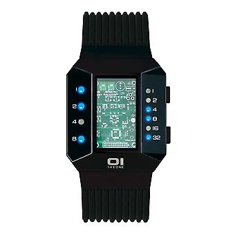 THE ONE Watch Men's Binary Wristwatch Split Screen SC202B5