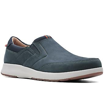 Clarks Un Trail Step Hombres Slip On Shoes