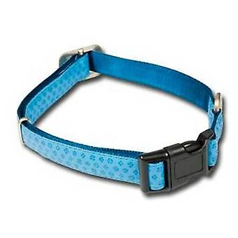 Nayeco MacLeather dog collar blue L (Dogs , Collars, Leads and Harnesses , Collars)