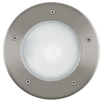 Eglo Riga 3 - 1 Licht Outdoor Ground Light Edelstahl IP44 - EG86189
