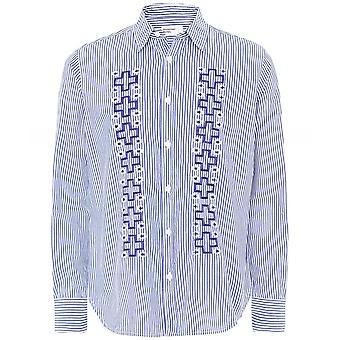 Universal Works Classic Stripes Nouveau Standard Shirt