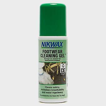 Neue Schuhe Reinigung Gel Schwamm auf Reiniger für wasserdichte Schuhe grün