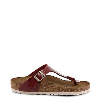 Birkenstock Original Women Spring/Summer Flip Flops - Red Color 34918