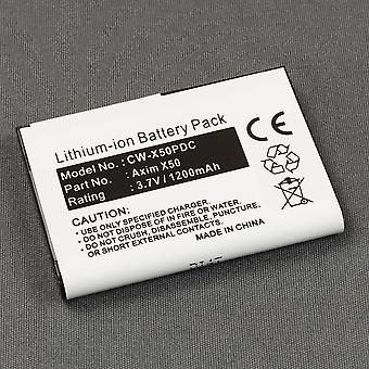 Battery for Dell Axim X50v X50 X51 X51v Pocket PC PDA HC03U 310-5964 35h00056-00 T6845 T6476 451-10201