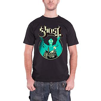 Ghost T Shirt Opus Eponymous Band Logo Official Mens new Black