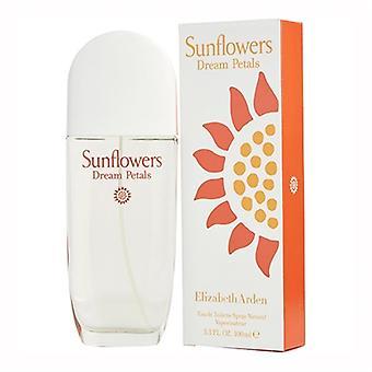 Sunflowers Dream Petals by Elizabeth Arden for Women 3.3oz Eau De Toilette Spray