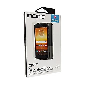 Incipio NGP-fodral och skärmskydd för Moto E5 Play - Clear