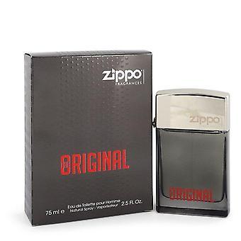 Zippo original eau de toilette spray par zippo 548283 75 ml