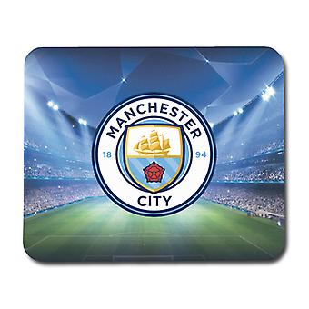 Mouse pad do logotipo do Manchester City 2016