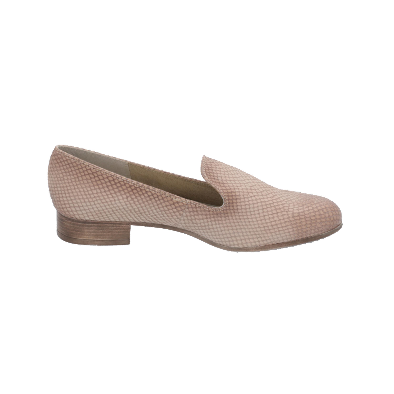Tamaris 1-1-24218-24 Chaussures d'affaires Loafer Grey Slip-Ons - Remise particulière