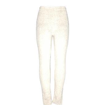 Cuddl Duds Leggings Fleecewear Stretch Leggings Pull-On Beige A369295