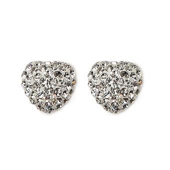 E-11112 - Women's lobe earrings - silver sterling 925