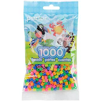 Perler Beads 1,000/Pkg-Neon Mix