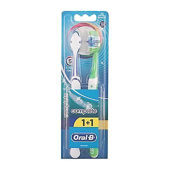 Toothbrush Complete 5 Ways Clean Oral-B (2 uds)