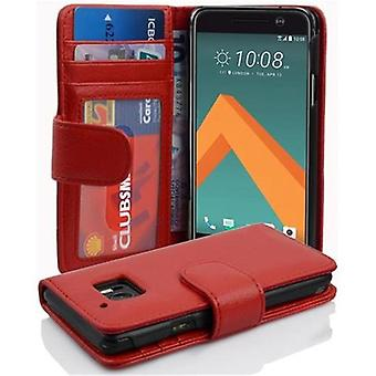 Cadorabo case for HTC 10 (One M10) case case cover - phone case with magnetic clasp and 3 card pockets – Case Cover Protective case Case Case Book Folding Style
