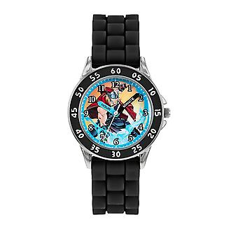 Children's Marvel Avengers Thor Black Analogue Watch