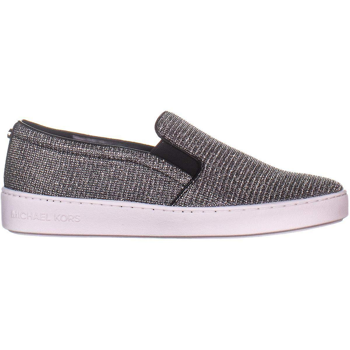 Michael Kors Womens Keaton Slip auf Stoff Low Top Slip auf Fashion Sneakers