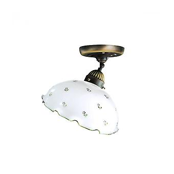 Ceiling Light Cozy Style Nonna Antique Brass 1 Bulb