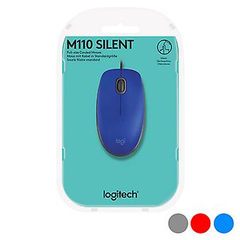 Optical mouse Logitech M110 Silent 1000 dpi USB/Grey