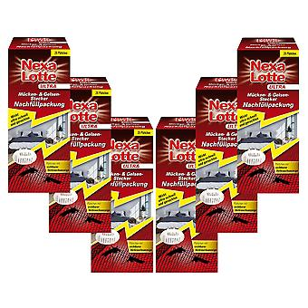 Sparset: 6 x NEXA LOTTE® Ultra Mosquito & Gelsen plug refill pack, 20 pieces