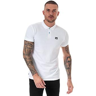 Men's Weekend Offender Barnum Polo Shirt in White