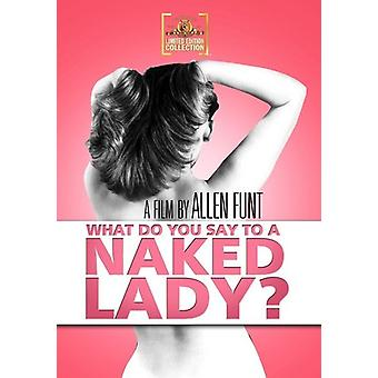 What Do You Say to a Naked Lady? [DVD] USA import