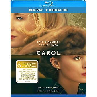 Carol [Blu-ray] USA import