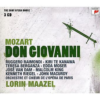 Lorin Maazel - Mozart: Don Giovanni (Complete) [CD] USA import