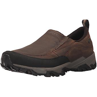 Merrell Mens Merrell ColdPack Ice- Moc Low Top Slip On Fashion Sneakers
