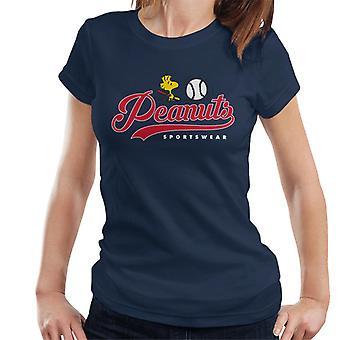 Peanuts baseball Woodstock naisten ' s T-paita