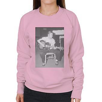 Elvis Love Me Tender 1956 Recording Session Women's Sweatshirt
