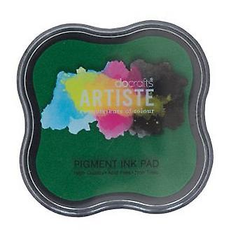Docrafts Pigment Ink Pad - Verde