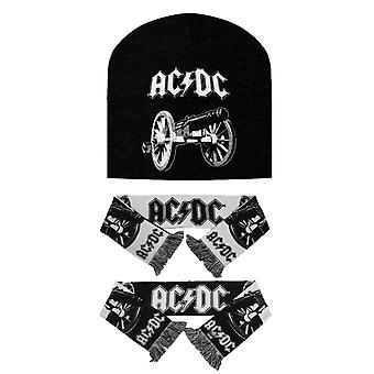 AC/DC pipo hattu ja huivi setti for Rock Band logo uusi virallinen